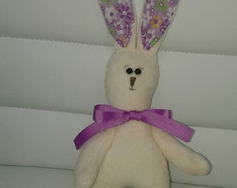 Plush bunny (плюшевый зайчик)