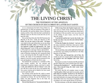 The Living Christ DIGITAL DOWNLOAD
