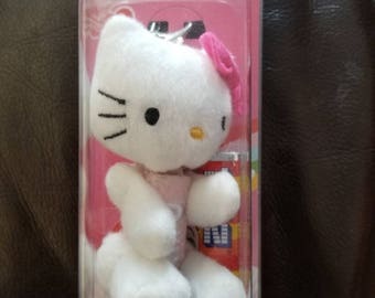 Hello Kitty Pez dispenser with clip and candy