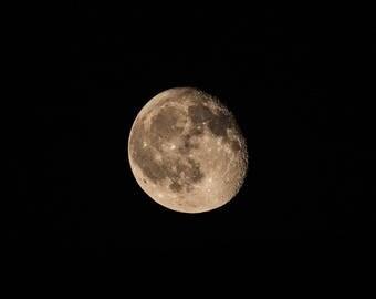 Moon Photography, Moon Photo, Joshua Tree, California