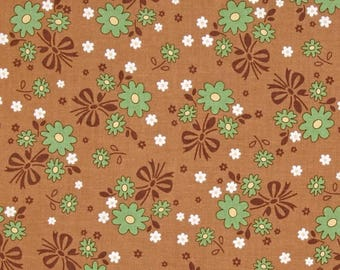 "Riley Blake by Lori Holt    ""Calico Days""  Nutmeg   Cotton  Fabric"