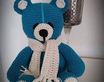 Teddy bear purr
