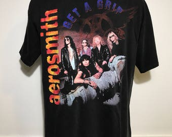 Vintage 1994 Aerosmith Get A Grip World Tour Tee XL
