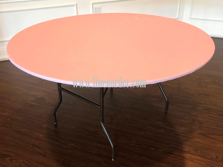30 Round Vinyl Elastic Table Covers Vinyl Round Elastic