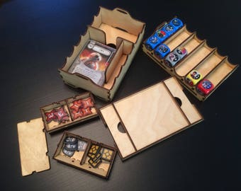 Deck and Dice Organizer for Star Wars Destiny dice game