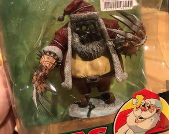 McFarlane's Twisted Christmas Santa Claus action figure