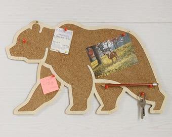 Cork board, Pin board, Memo board, Cork board gift, Bulletin board, Pin board decor, Notice board, Mail organizer, Pin board gift, Corkboard