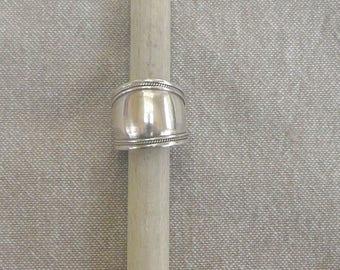 """Ethnic"" silver ring"