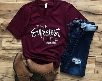 Mom Life Shirt, Mom Shirt, Mom Graphic Tee, Mama Bear, Mom tshirt , Christmas Gift, birthday gift for her, Women Graphic Tee, New Mom Gift