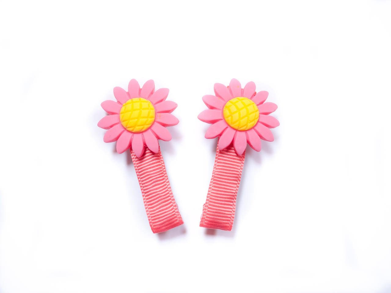 Lovely Daisy Hair Clips Pigtail Clips Baby Hair Accessoriessmall