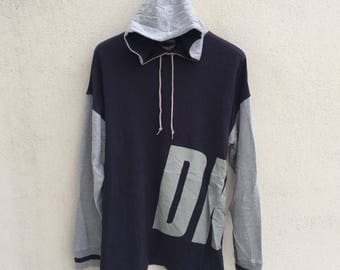 Vintage Dkny Hoodie Spell Out Logo