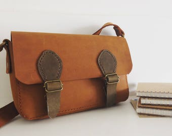 Handmade Nubuck Leather bag