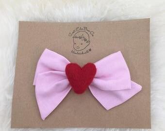 Be My Valentine Bow