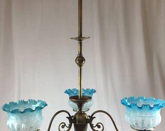Vintage chandelier | Etsy