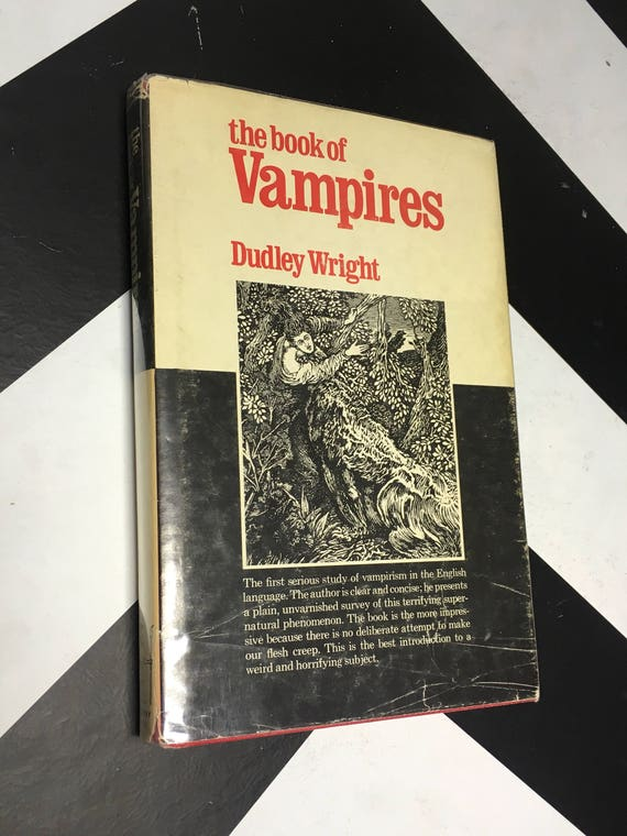 Book of Vampires by Dudley Wright (Hardcover, 1989)