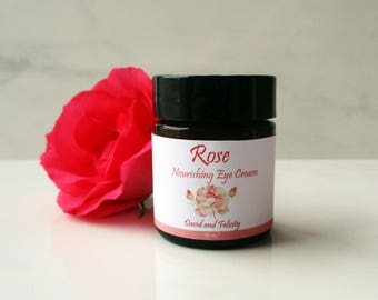 Rose Eye Cream - Natural Eye Cream - Rose Nourishing Eye Cream