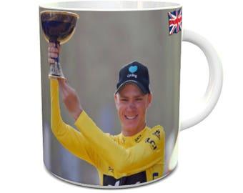 Chris Froome Tour de France Winner 2017 Ceramic Mug