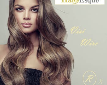 Wire hair extensions etsy visi wire secret halo esque hair extensions pmusecretfo Image collections