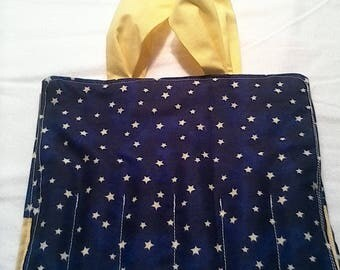 Stars coloring tote