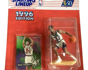 NBA Starting Lineup SLU Damon Stodamire Action Figure Toronto Raptors 1996