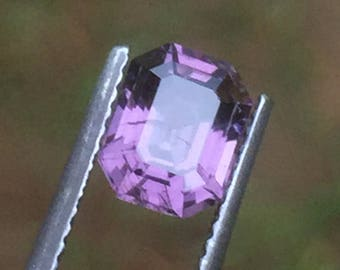 1.65 carats  natural  purple  spinel .