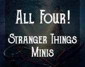 All Four Scents! Stranger Things 2oz Soy Candles