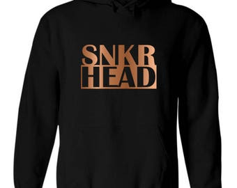 huge discount 895c7 47a60 ... SNKR Head Dirty Copper Foamposite One Mens Hoodie Hoody Sweater Match  Sneaker Foams ...