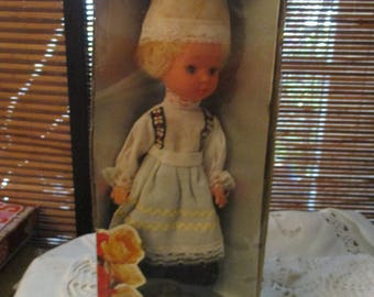 Dolls of All Nations - Dutch Doll  (1960s)