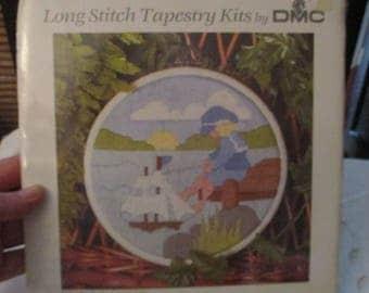 DMC Long Stitch Tapestry Kit - Sailor Boy