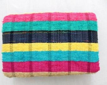 Handmade Hand woven Chindi Area Rugs Rectangular Carpet Durrie Recycled Bohemian Beach Garden Yoga Mat Indian Floor Kilim Counterpane I619