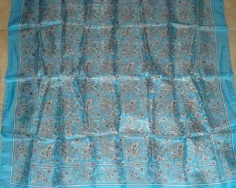 Vintage Glentex Silk Scarf