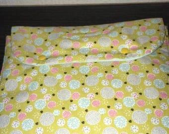 Changing mat portable bubble flower pattern
