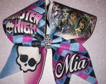 Cheer bow monster high