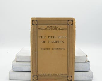 The Pied Piper of Hamelin by Robert Browning (Vintage, Fairytale, Poetry)