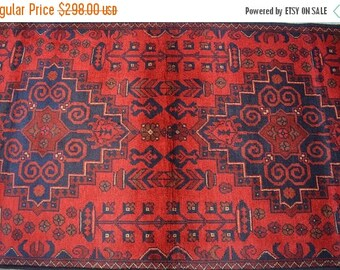 BIG SALE 6'8 x 2'8 FT Handmade Afghan Tribal Turkoman fine Quality Weave rug runner