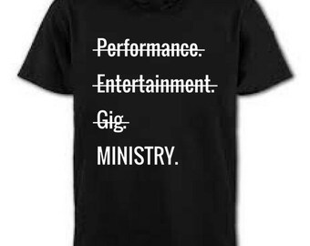 Ministry Tee