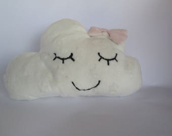 Sleepy cloud white - small model cushion