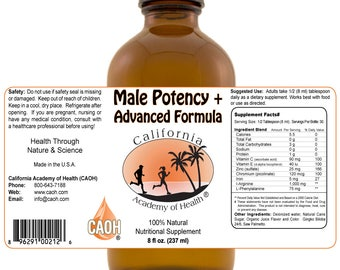 Ultra Male Potency Formula