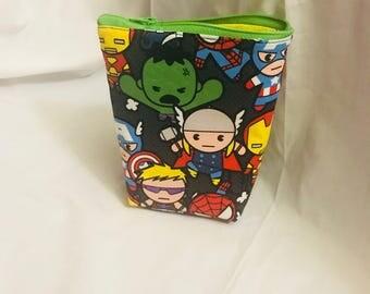Marvel super hero makeup bag