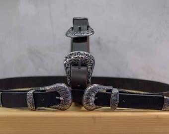 Two Buckles belt