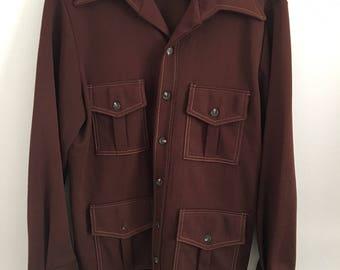 Men's 1960s Brown Jacket