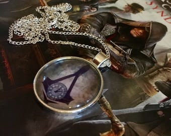 Assassins Creed Syndicate Big Ben & Clock Face Logo Necklace or Keyring : )