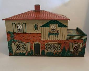Vintage Marx Toys Metal Doll House