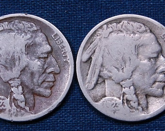 1923 & 1923-S Buffalo Nickels