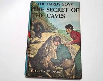 The Hardy Boys #7, The Secret of the Caves by Franklin W. Dixon  Hardcover  Mystery/Adventure