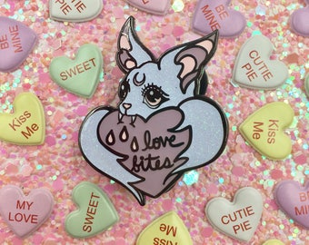 Love Bites pin