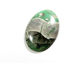 66Cts Variscite Loose Gemstones Cabochon Oval Calibrated Size Gems Top AAA Quality Natural Variscite Gemstone For Jewelry Making 45X31X6.5mm