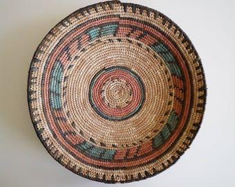 Vintage Coil Wall Basket