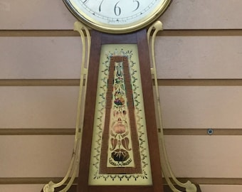Vintage/Antique Seth Thomas Banjo Wall Clock