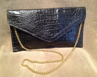Vintage Black Bag / Purse / Vintage Handbag
